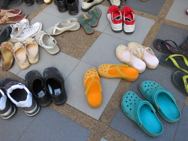 crocs with friends
