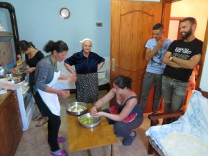 home cooking experience with family near Gjirokaster