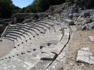 Amphitheatre Butrint UNESCO site