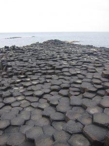 Giants Causeway view of stones