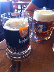Kopola and beer