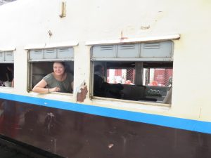 the worst train journey from Yangon to Bagan overnight