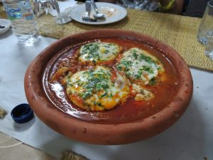meatball tagine with tomato and egg homestay moulay idriss